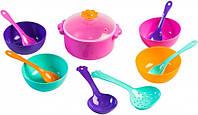 Набор игрушечной посуды столовый Ромашка 12 элементов