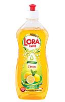 """Средство для мытья посуды Lora Paris """"Лимон"""" 500мл"""