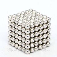 NeoCube, неокуб 5 мм, серебро, развивающие игрушки, конструктор, купить оптом