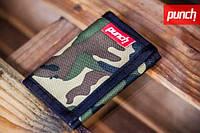 Кошелек PUNCH - Black/Camo, кошелек интернет, стильный кошелек, молодежный кошелек