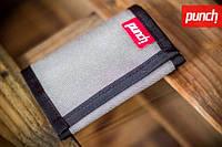 Кошелек PUNCH - Black/Grey, кошелек интернет, стильный кошелек, молодежный кошелек