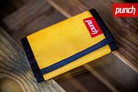 Кошелек PUNCH - Black/Yellow, кошелек интернет, стильный кошелек, молодежный кошелек