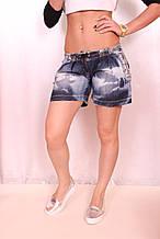 Турецкие джинсовые шорты (Код: 2055)