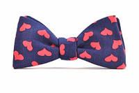 "Галстук-бабочка ""Sweet Heart Bow Tie"", стильная бабочка, модная, элегантная, красивая, украинская"
