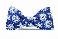 "Галстук-бабочка ""Snowflake Bow-Tie"", стильная бабочка, модная бабочка"