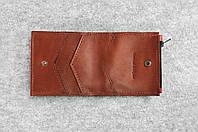 """Кожаный кошелек """"Bro Wallet Elite Brown"""", мужская одежда и аксессуары"""