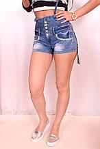Турецкие джинсовые шорты (Код: 713)