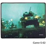 Mouse pad (игровая поверхность) GREENWAVE Game S-02 (320*270*3мм коврик ткань+резина)