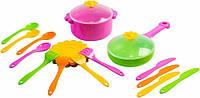 Набор игрушечной посуды столовый Ромашка 20 элементов