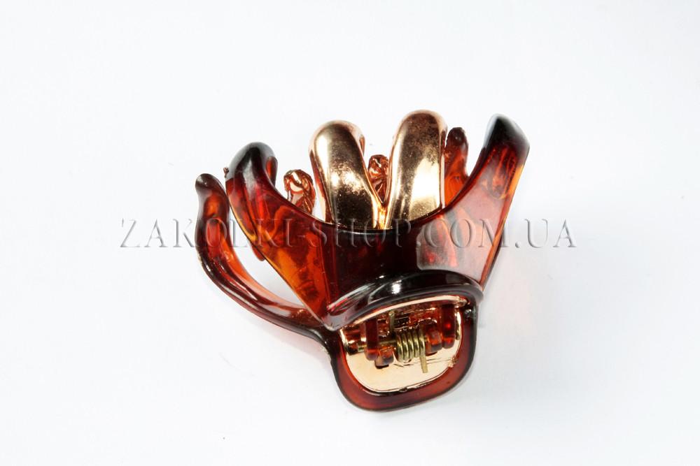 Заколки; крабы для волос, материал: пластик, длина: 6 см, 1 штука