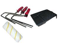 Валики, ручки для валиків та ванночки