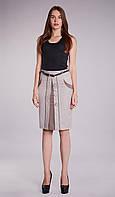 "Женская юбка ""Лаванда"" 0059 серый"