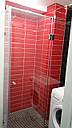 Угловая душевая кабина с дверью на стекле 900*900, фото 8