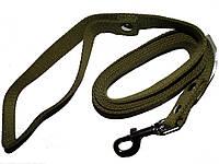 Поводок для собаки брезентовый 20 мм*5 м