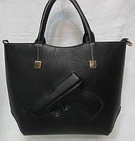 Стильная  женская сумка . Чёрный