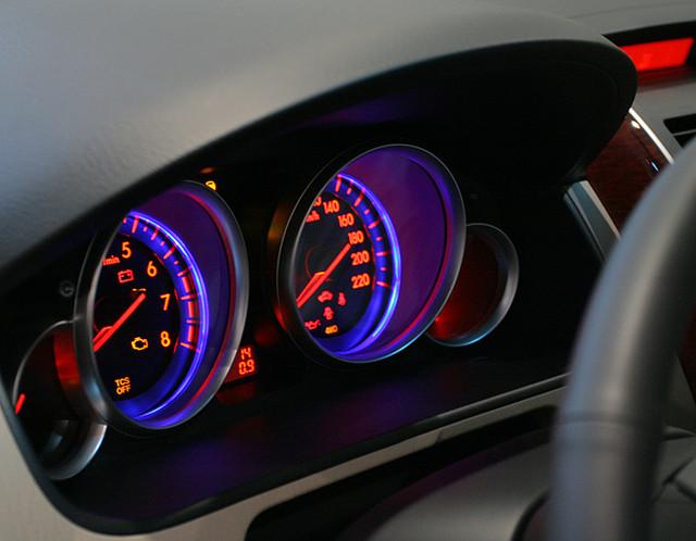 Светодиодная подсветка в панель приборов