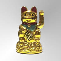 Котик Манеки-НэкоСчастливый кот на батарейке