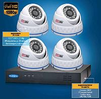 Комплект видеонаблюдения Turbo HD  PV-4401TVI + PV-712TVI