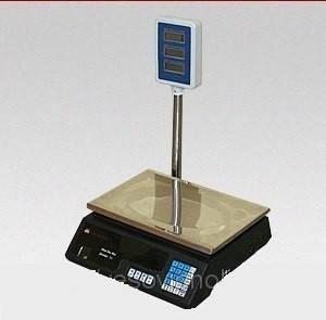 Весы торговые электронные ACS D2 со стойкой