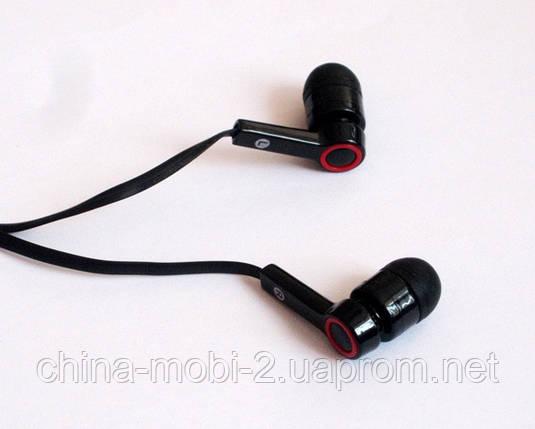 Вакуумные наушники Stereo  MD-A8 черные, фото 2