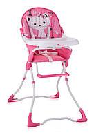 Детский стульчик для кормления Bertoni Candy Pink Kitten