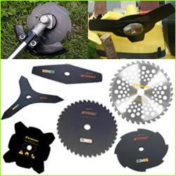 Ножи и диски для бензокосы, мотокосы, газонокосилок