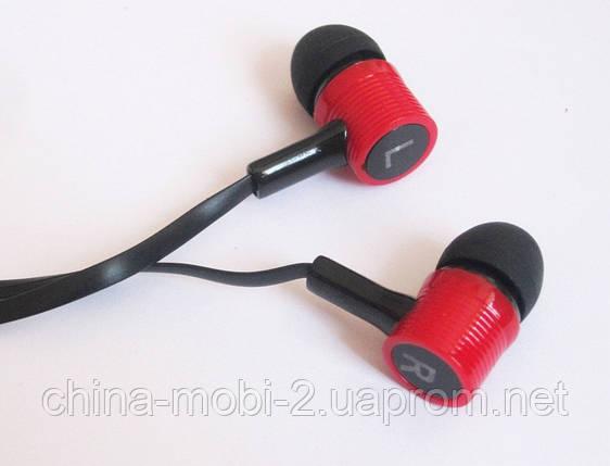 Вакуумные наушники Stereo  MD-A16 черные, фото 2