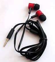Вакуумные наушники Stereo  MD-A17 черные, фото 3