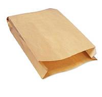Бумажные пакеты крафт 200мм*50мм*325мм бурые