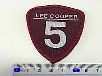 Нашивка lee cooper 6x6см