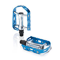 Педали Xlc PD-M15, 241 гр, серебристо-синие
