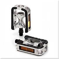 Педали Xlc PD-C01, 452 гр, черно-серебристые