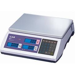 Весы электронные 30 кг с поверкой CAS ER Plus E