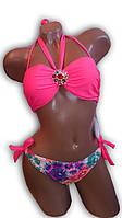 Купальник женский раздельный. Розовый неон. Teres. 2189.1, фото 1