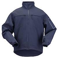 """Куртка тактическая для штормовой погоды """"5.11 Tactical Chameleon Softshell Jacket"""" Dark Navy"""