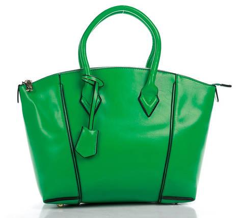 Сумка женская зеленого цвета, фото 2