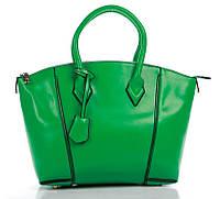 Сумка женская зеленого цвета