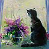 «Кот Васька» картина маслом