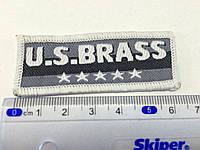 Нашивка US Brass  6,5x2,4см
