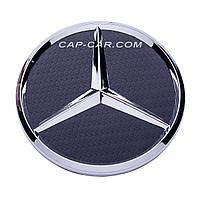 Колпачки для литых дисков Mercedes 75мм матовый