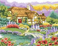 """Алмазные картины полной выкладки """"Цветущий сад"""" Размер: 41*33 см Код 198355"""