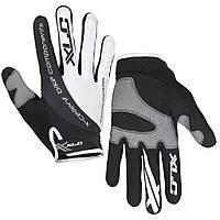 Перчатки XLC Mercury, черно-белые, XL