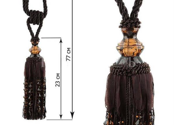 "Декоративные кисти для штор ""Шейх"", венге, фото 2"