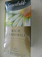Чай Гринфилд зеленый с ромашкой