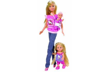Куклы Steffi и Evi