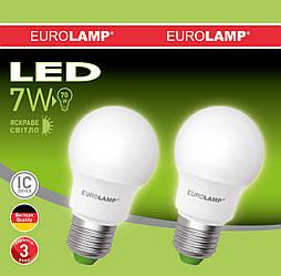 """Промо-набір EUROLAMP LED Лампа A50 7W(530Lm) E27 4000K акція """"1+1"""""""