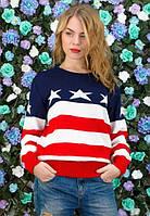Молодежный женский свитер