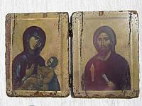 Старинные складни иконы