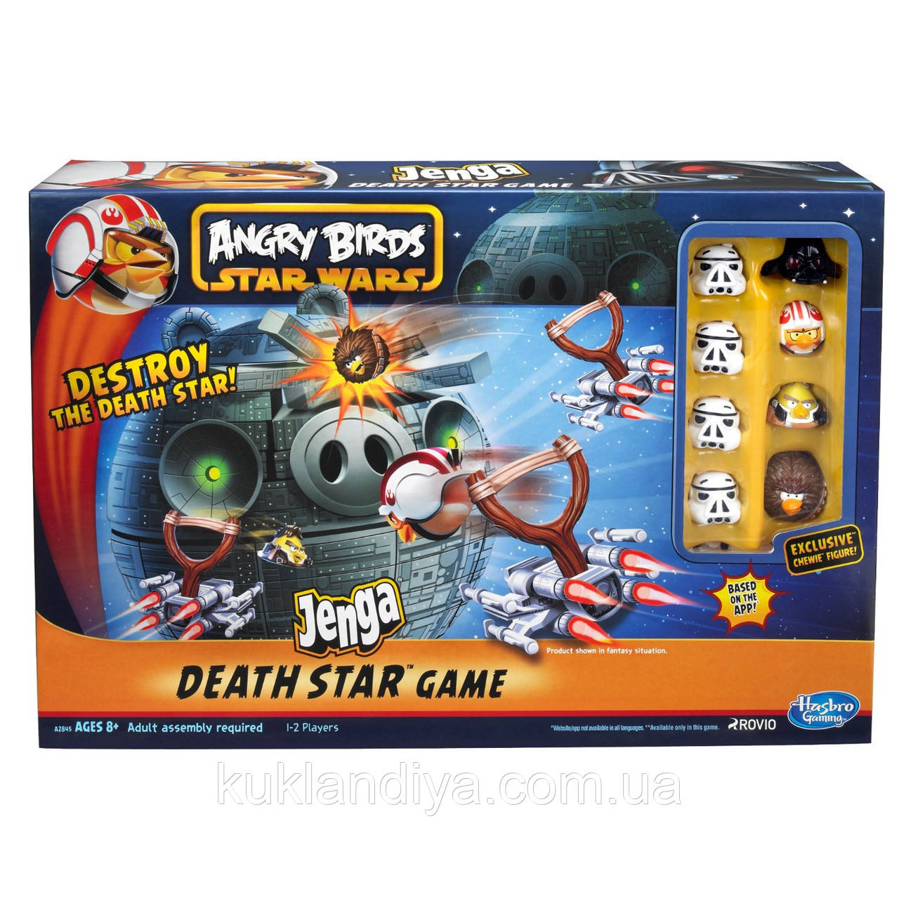 Игра Angry Birds Star Wars Fighter Pods Jenga Death Star