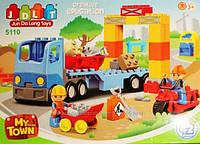 Конструктор JDLT 5110 грузовик, ремонтные работы